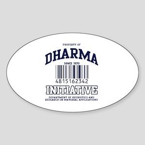 DHARMA Uni Oval Sticker