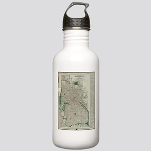 Vintage Map of Minneap Stainless Water Bottle 1.0L