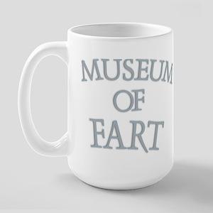 Museum of Fart Large Mug
