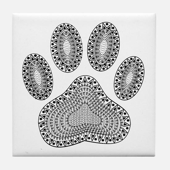 Funny Motif Tile Coaster