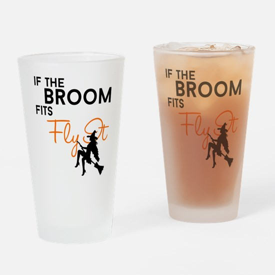 Fly It Drinking Glass