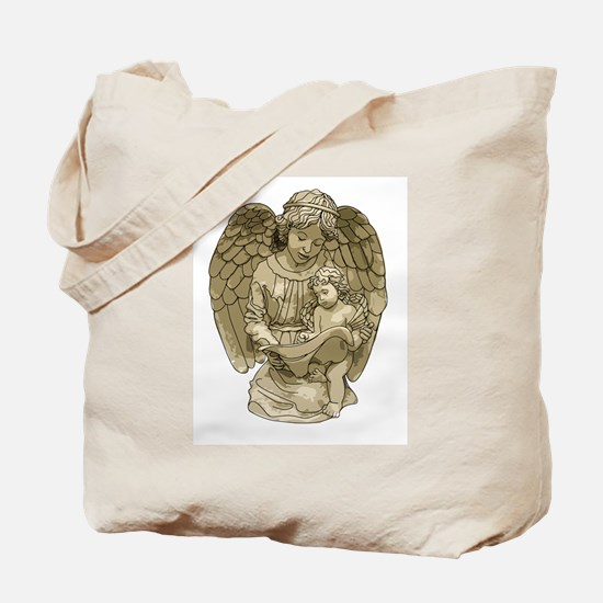 Angel of Learning Tote Bag