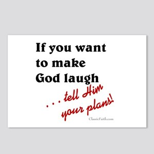 Make God Laugh Postcards (Package of 8)