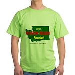 Men's Green T-Shirt Wa State Logo