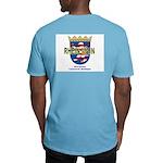 Men's Fitted T-Shirt Reunion Logo