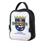 Neoprene Lunch Bag Reunion Logo