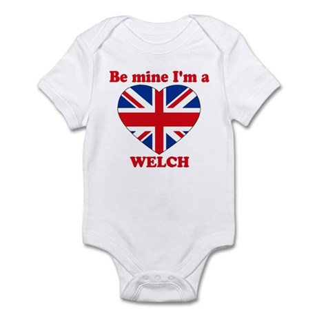 Welch, Valentine's Day Infant Bodysuit