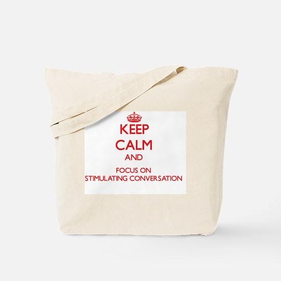 Cute Conversation stimulators Tote Bag