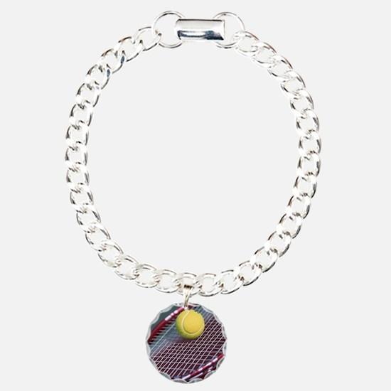 Tennis Ball & Racket Bracelet