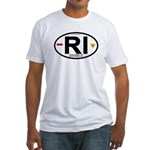 Indonesia Intl Oval Fitted T-Shirt
