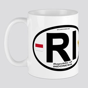 Indonesia Intl Oval Mug