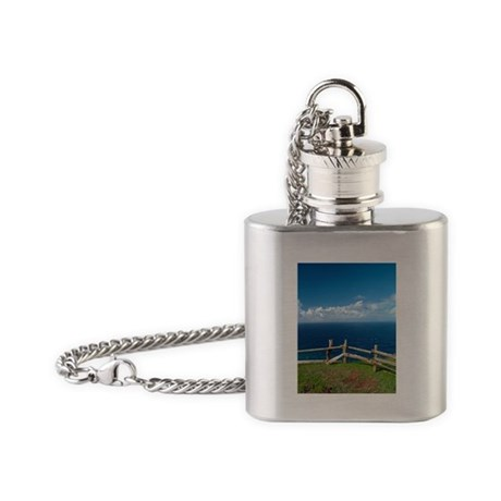 Seascape Flask Necklace