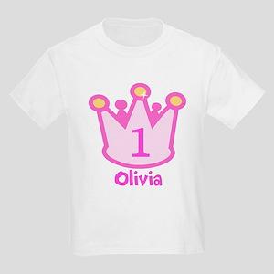 Custom Princess Kids Light T-Shirt
