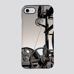 Old machinery iPhone 7 Tough Case