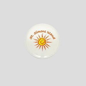 St. Simons Island, Georgia Mini Button