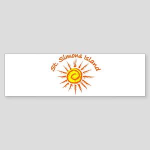 St. Simons Island, Georgia Bumper Sticker