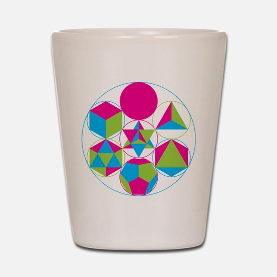 Sacred geometry Shot Glass