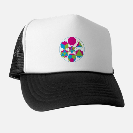 Cute Geometry Trucker Hat