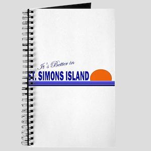 Its Better in St. Simons Isla Journal
