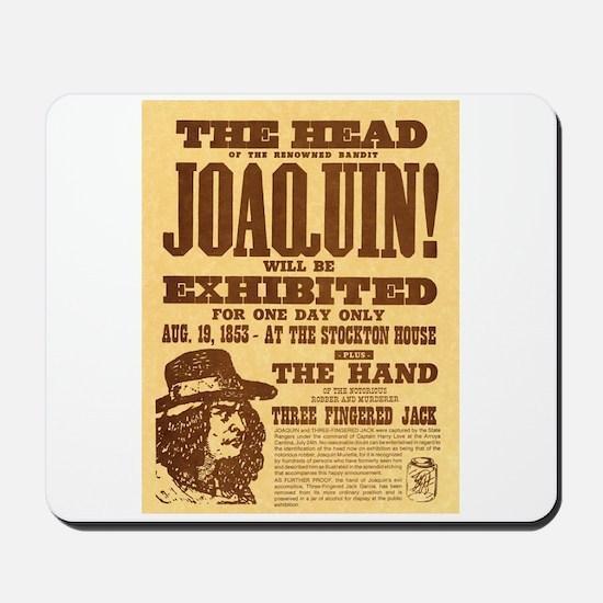 The Head of Joaquin Mousepad