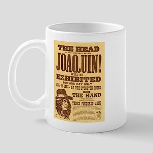 The Head of Joaquin Mug