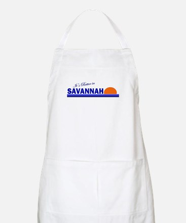 Its Better in Savannah, Georg BBQ Apron