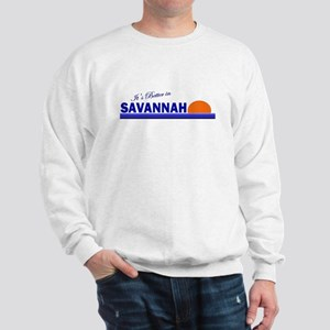 Its Better in Savannah, Georg Sweatshirt