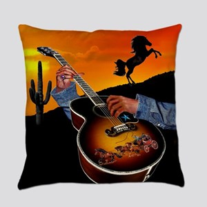 Country Music Everyday Pillow