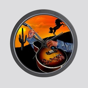 Country Music Wall Clock