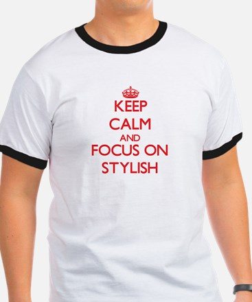 Keep Calm and focus on Stylish T-Shirt
