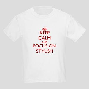 Keep Calm and focus on Stylish T-Shirt