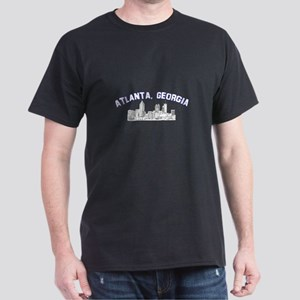 Atlanta, Georgia Skyline Dark T-Shirt