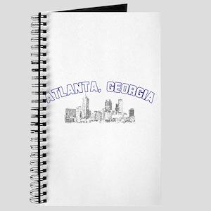 Atlanta, Georgia Skyline Journal