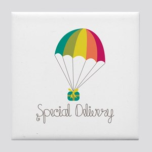 Special Delivery Tile Coaster