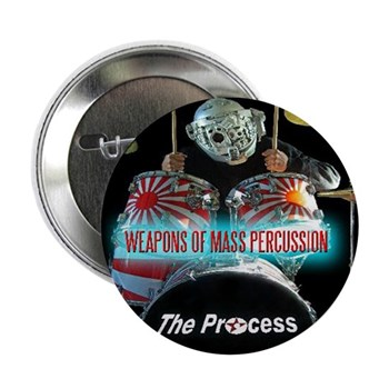"""Weapons Of Mass Percussion 2.25"""" Button (10 P"""