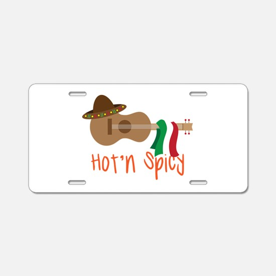 Hot'n Spicy Aluminum License Plate