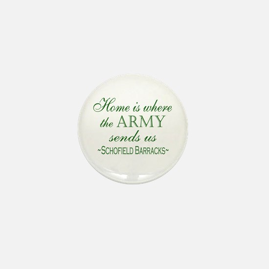 Cute Hawaii military Mini Button