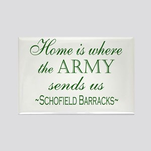 schofield barracks Magnets