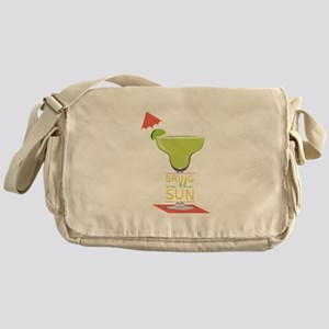 Bring On The Sun Messenger Bag