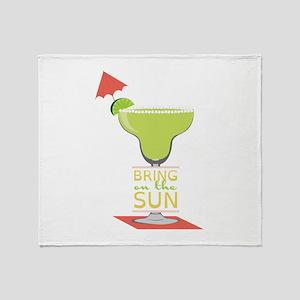 Bring On The Sun Throw Blanket
