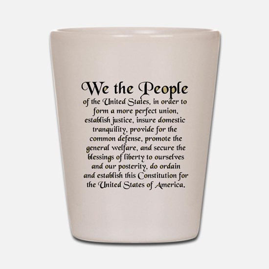 We the People US Shot Glass