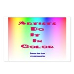 Artists Do It In Color Postcards (Package of 8)