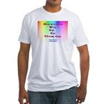 Artists Do It In Color Fitted T-Shirt