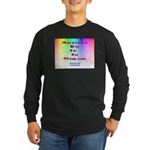 Artists Do It In Color Long Sleeve Dark T-Shirt
