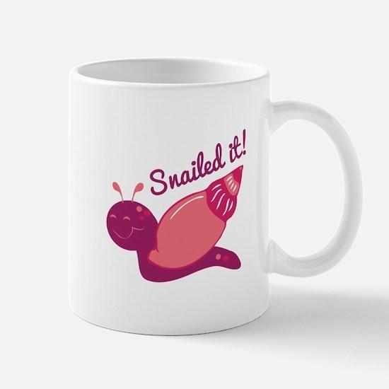 Snailed It! Mugs