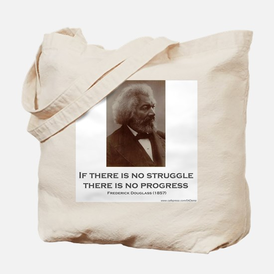 """Struggle and Progress"" Tote Bag"