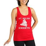 St. Helen Knights Womens Racerback Tank Top