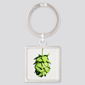 Graphical Hop Cone Keychains