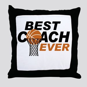 Best Coach ever Throw Pillow