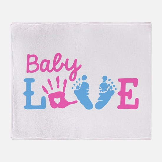 Baby Love Throw Blanket